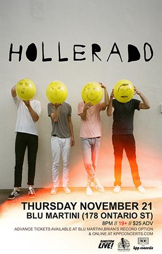 Nov 21. - Hollerado