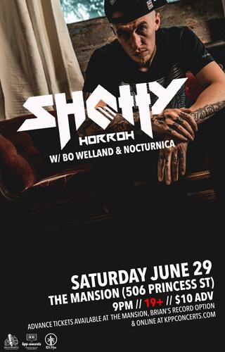 Jun. 29 - SHOTTY HORROH