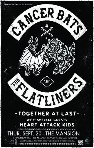 Sept 20 - Cancer Bats & The Flatliners